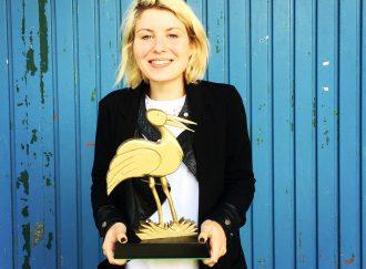 """Jasmin Baumgartner (Bester Film für """"Unmensch"""" @ Wendland Shorts)"""